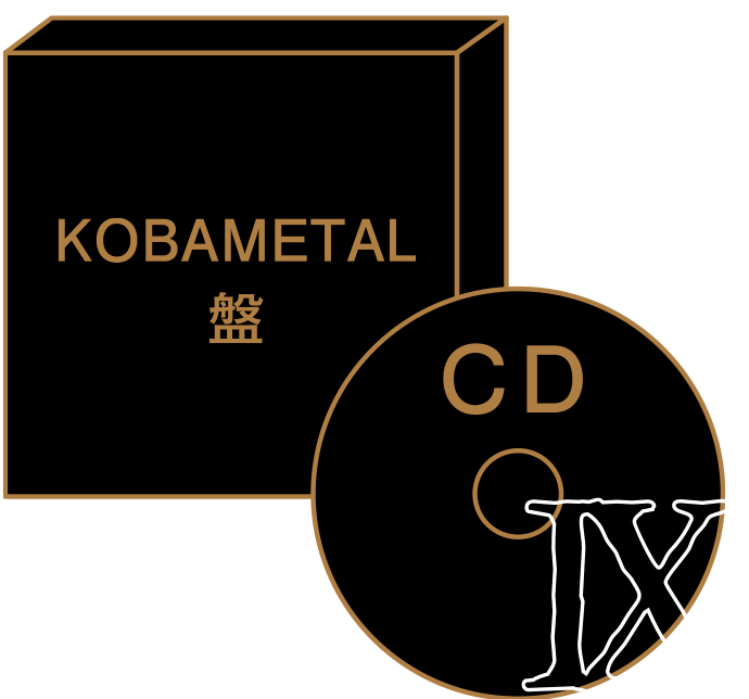 KOBAMETAL盤