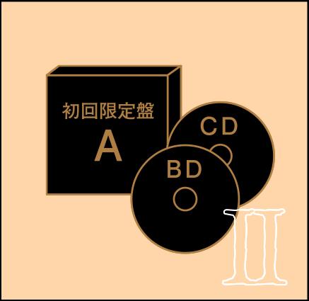 初回限定盤A 歴代MUSIC CLIPS集BD付
