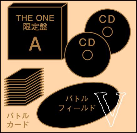 "THE ONE限定盤A ""KARUTAバトルセット"""