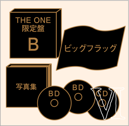 "THE ONE限定盤B ""クロニクルセット"""